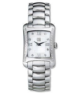 ESQ Verona Women's Stainless Steel Watch with Diamonds