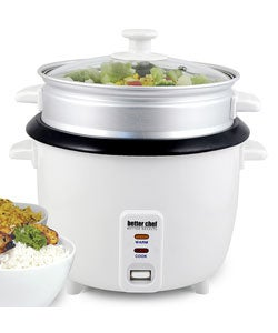 Better Chef 10-cup Rice Cooker/ Food Steamer