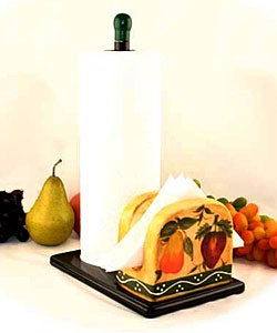 Tuscan Collection Towel and Napkin Holder