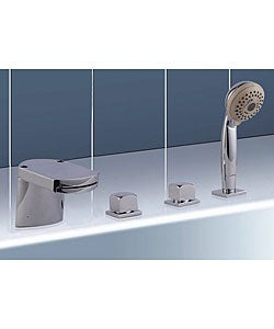 Waterfall Tub Faucet Set with Hand Shower | Overstock.
