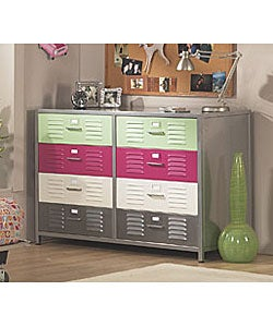 Girl's Locker 8-Drawer Dresser