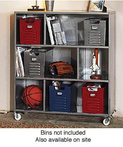 Locker 3-shelf Bookcase