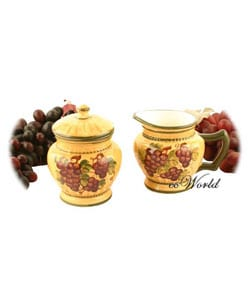 Sonoma Collection Sugar and Creamer