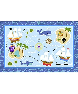 Nylon Pirates Rug (3'3 x 4'10)