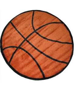 Basketball Rug (3'3 Round)