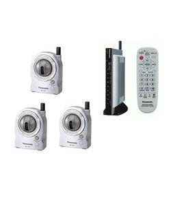 Panasonic BL-MS103A 3 Wireless Network Camera  Security System (Refurbished)