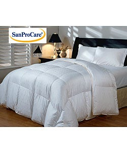 German Hotel Grand Hungarian White Goose Down Comforter