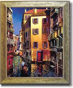 Michael O'Toole Venetian Light Framed Canvas