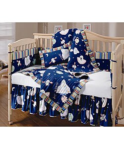 Outer Space 4-piece Crib Set