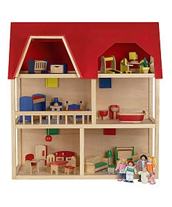 Red Roof Dollhouse