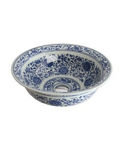 Fontaine Colored Porcelain Bathroom Vessel Sink