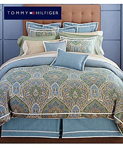 Tommy Hilfiger Jeweled Tapestry 4-piece Comforter Set