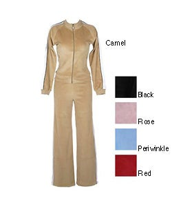 Coco Velour Lounge Wear Set