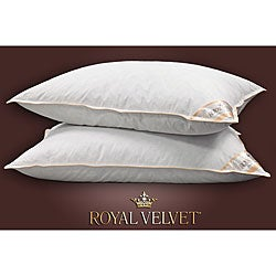 Royal Velvet Decorative Pillows : Royal Velvet Milan Feather and Down Pillow (Set of 2) - Overstock Shopping - Great Deals on ...