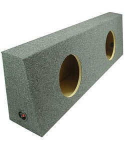 Sub Boxes Truck Dual Subwoofer Box (12-inch)