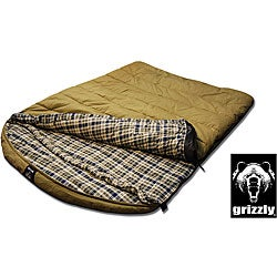 Grizzly 2-person 0-degree Canvas Sleeping Bag