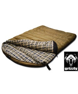 Grizzly 2-person 0-degree Ripstop Sleeping Bag
