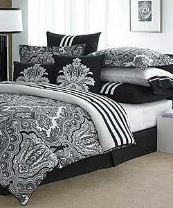 Echo Modern Paisley Luxury 4-piece Comforter Set