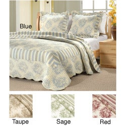Country Stripe Quilt Set
