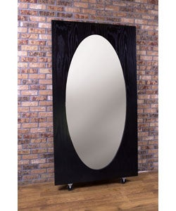 Oval Leaning Mirror