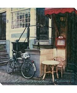 Ernesto Rodriguez 'Prinsengracht' Canvas Art