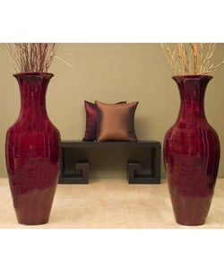 Shanghai Tall Vase Floor Vases Home Accents Home Decor