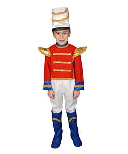 Deluxe Toy Soldier Children's Costume Set