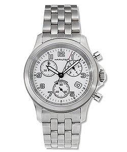 Hamilton Khaki Action White Dial Luxury Watch