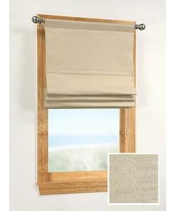 Linen 40-inch Soft Roman Window Shade
