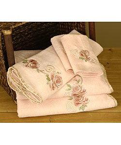 Avanti Vintage Rose Blush Towels (Set of 6)