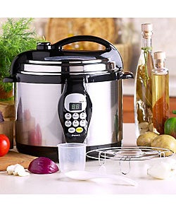Bravetti Platinum Pro Electric Pressure Cooker