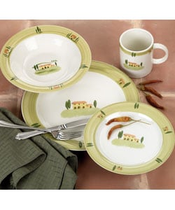 Farberware Santa Barbara 16-piece Dinnerware Set