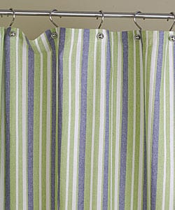 Green Stripe Shower Curtain, Green Stripe Shower Curtain Products