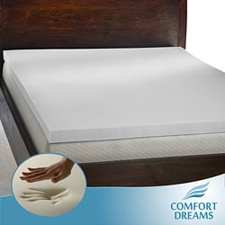 Comfort Dreams Enviro Green 3-inch Queen/ King-size Memory Foam Mattress Topper