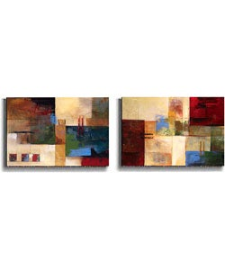 Judeen Urban Country Stretched Canvas Set (2-piece)