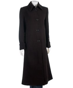 Harve Benard Women's Long Coat with Cuff