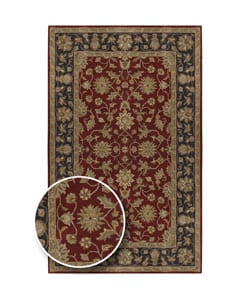 Hand-tufted Camelot Collection Wool Rug (10'x 14')