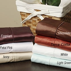 Super Silky 400 Thread Count Microfiber Sheet Set