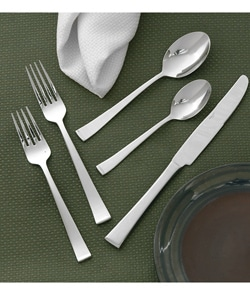 Wallace Julienne Stainless Steel Flatware Set (45-piece) | Overstock.