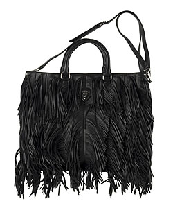 prada wallet replica - Prada Black Leather Fringe Handbag - 10855750 - Overstock.com ...