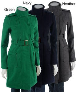 BB Dakota Wool Trench Coat