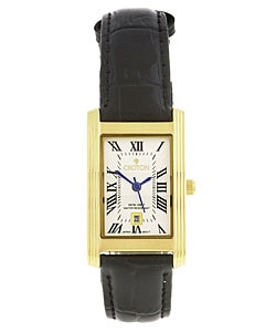 Croton Women's Classic Rectangular Quartz Watch