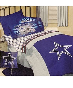 dallas cowboys comforter and sheet set twin 10859637 overstock