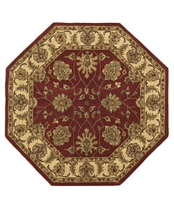 Handmade Elite Traditional Wool Rug (8&#39; Octagon)