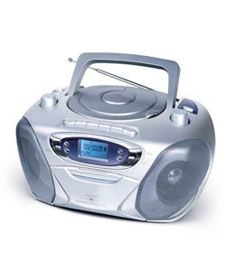 MP3 CD/CD Player/Cassette Player/Recorder