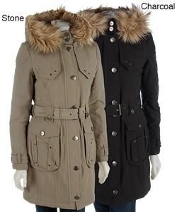 Esprit Women's Long Wrap Stadium Storm Coat