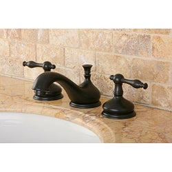 Heritage Oil-rubbed Bronze Widespread Faucet