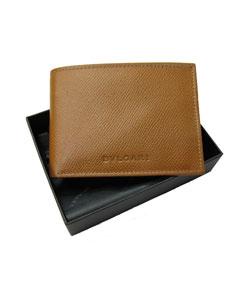 Bulgari Grain Amber Men's Wallet