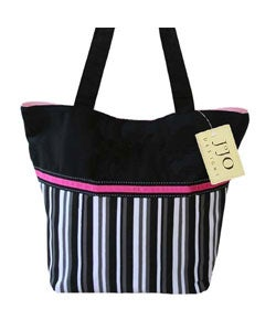 Sweet JoJo Designs Multicolor Stripe Tote