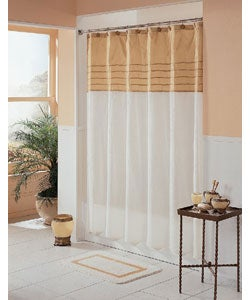 Milan Fabric Shower Curtain